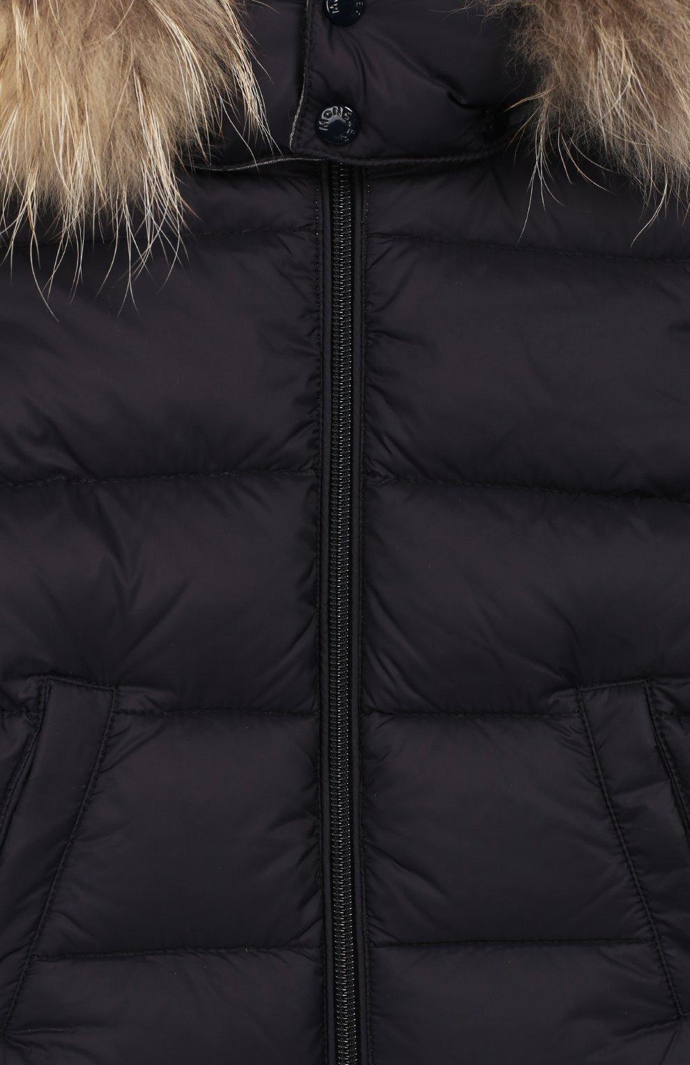 Детский комплект из куртки и комбинезона MONCLER ENFANT синего цвета, арт. E2-951-70335-25-53079   Фото 7