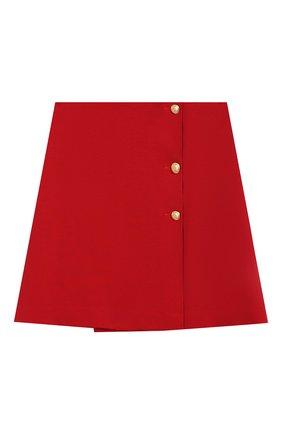 Детская юбка DAL LAGO красного цвета, арт. R292/8111/7-12 | Фото 1