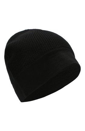 Мужская шерстяная шапка Z ZEGNA черного цвета, арт. Z6K51/B4L | Фото 1