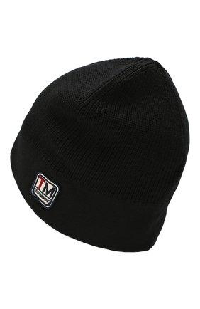 Мужская шерстяная шапка Z ZEGNA черного цвета, арт. Z6K51/B4L | Фото 2