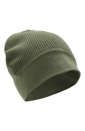 Мужская шерстяная шапка Z ZEGNA хаки цвета, арт. Z6K51/B4L | Фото 1