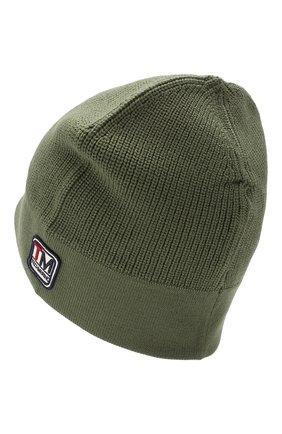 Мужская шерстяная шапка Z ZEGNA хаки цвета, арт. Z6K51/B4L | Фото 2