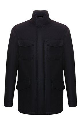 Мужская шерстяная куртка PAL ZILERI темно-синего цвета, арт. P36SK715R--B2106 | Фото 1