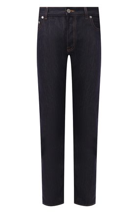 Мужские джинсы BERLUTI темно-синего цвета, арт. R16TDU32-001 | Фото 1