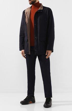 Мужские джинсы BERLUTI темно-синего цвета, арт. R16TDU32-001 | Фото 2