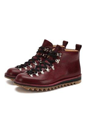 Кожаные ботинки M120 | Фото №1