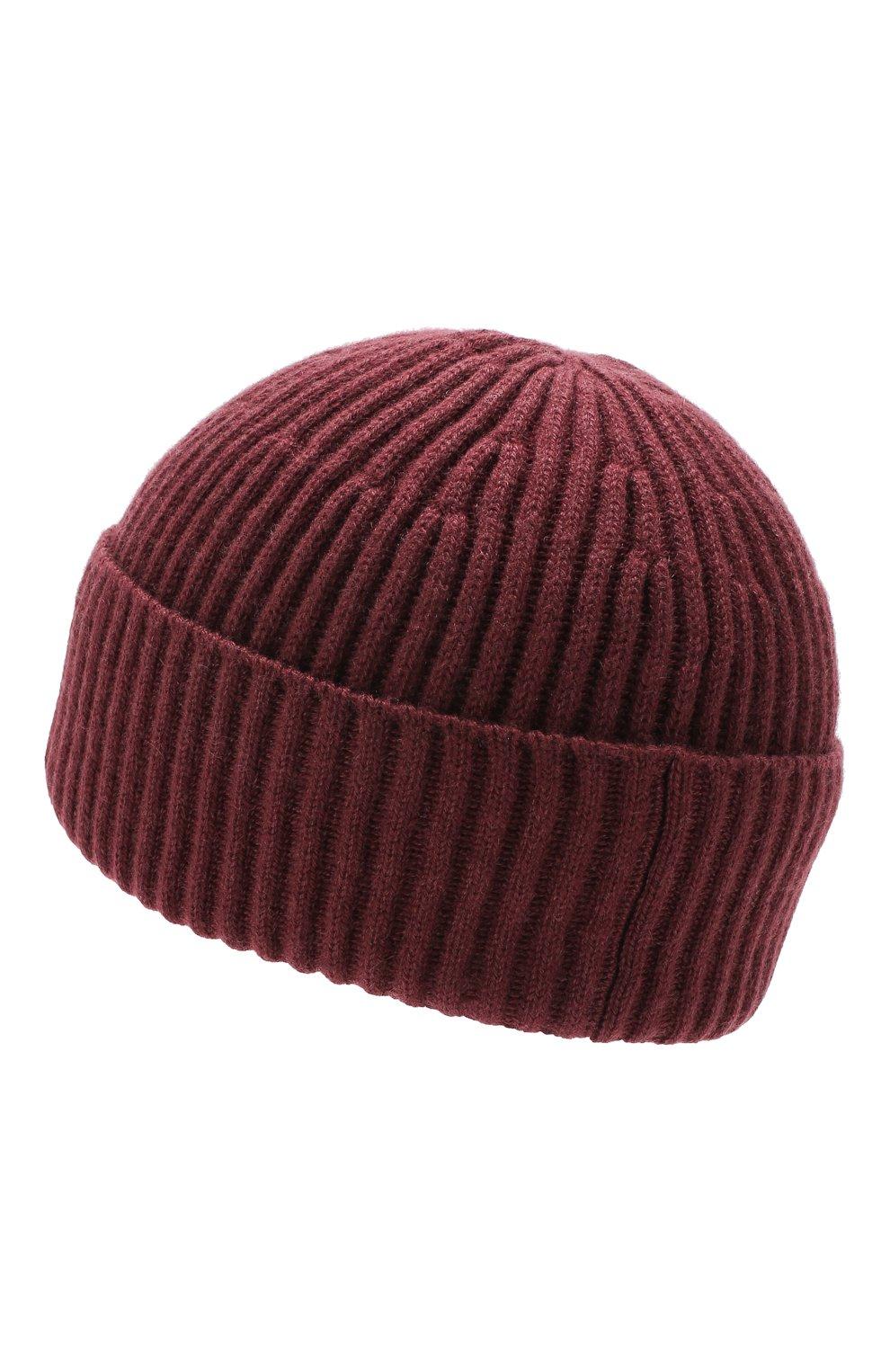Мужская кашемировая шапка BRUNELLO CUCINELLI темно-коричневого цвета, арт. M2293900   Фото 2