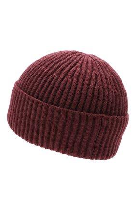 Мужская кашемировая шапка BRUNELLO CUCINELLI темно-коричневого цвета, арт. M2293900 | Фото 2
