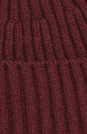Мужская кашемировая шапка BRUNELLO CUCINELLI темно-коричневого цвета, арт. M2293900   Фото 3