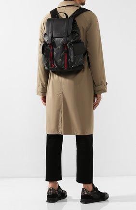 Мужской рюкзак gg supreme GUCCI черного цвета, арт. 495563/G02CX | Фото 2