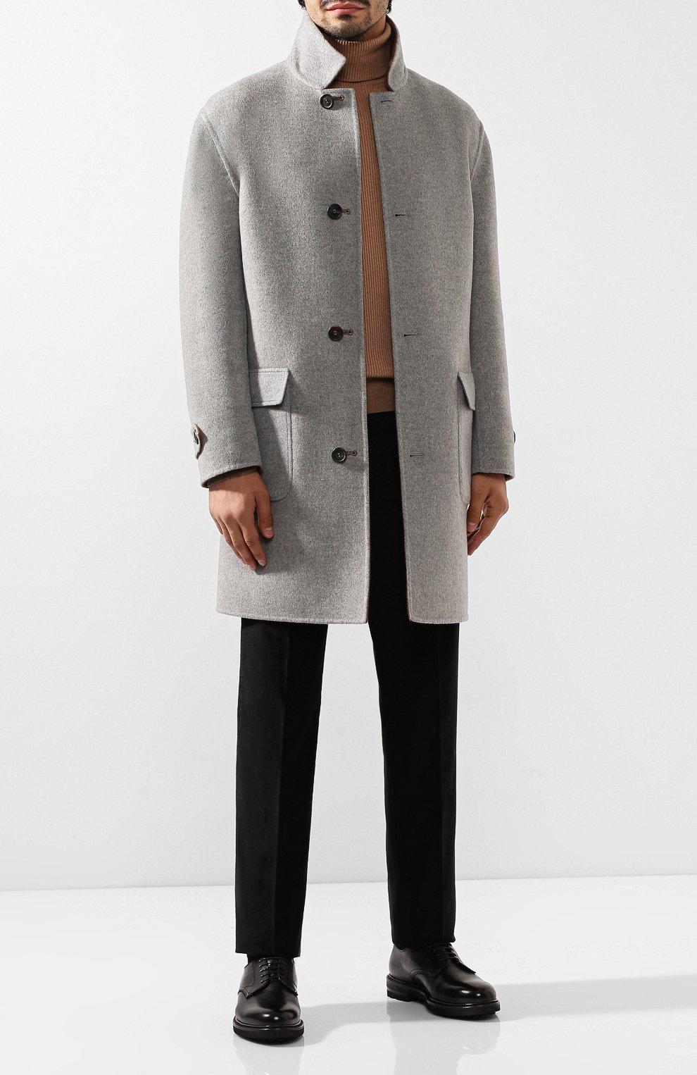 Мужские кожаные дерби H`D`S`N BARACCO черного цвета, арт. 59217.2* | Фото 2