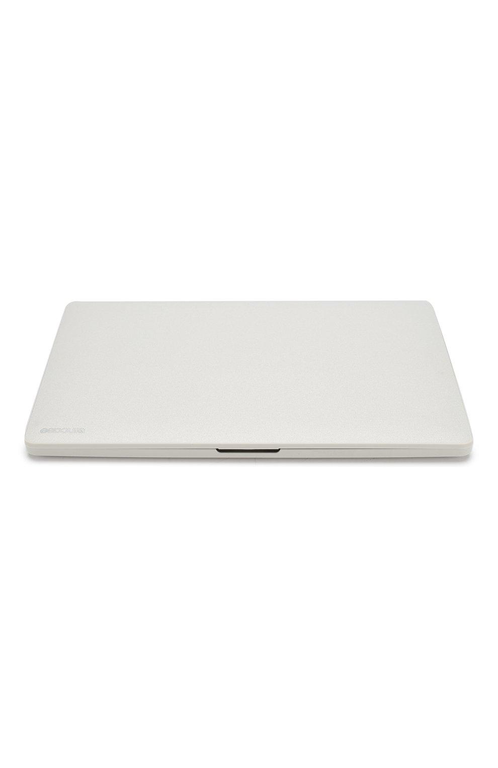 "Чехол для macbook pro 15"" APPLE  светло-серого цвета, арт. INMB900310-SLV   Фото 4"