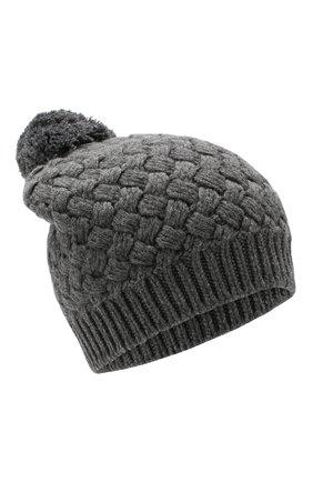 Женский кашемировая шапка DOLCE & GABBANA серого цвета, арт. FX546T/JAWQR | Фото 1