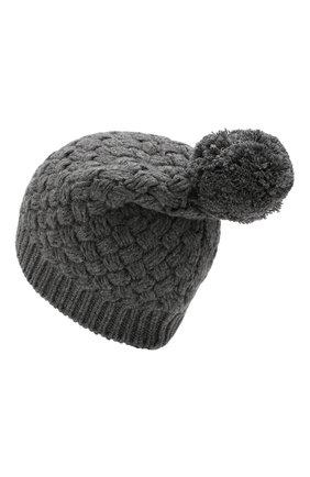 Женский кашемировая шапка DOLCE & GABBANA серого цвета, арт. FX546T/JAWQR | Фото 2