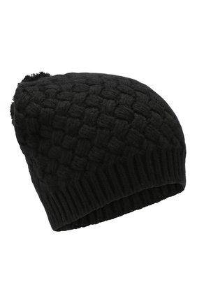 Женский кашемировая шапка DOLCE & GABBANA черного цвета, арт. FX546T/JAWQR | Фото 1