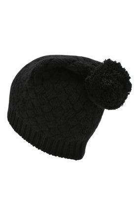 Женская кашемировая шапка DOLCE & GABBANA черного цвета, арт. FX546T/JAWQR | Фото 2