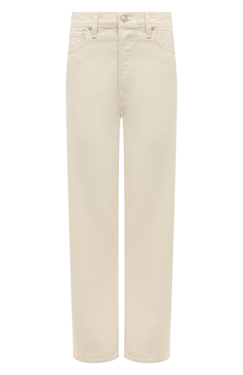 Женские джинсы AGOLDE белого цвета, арт. A069B-1183 | Фото 1