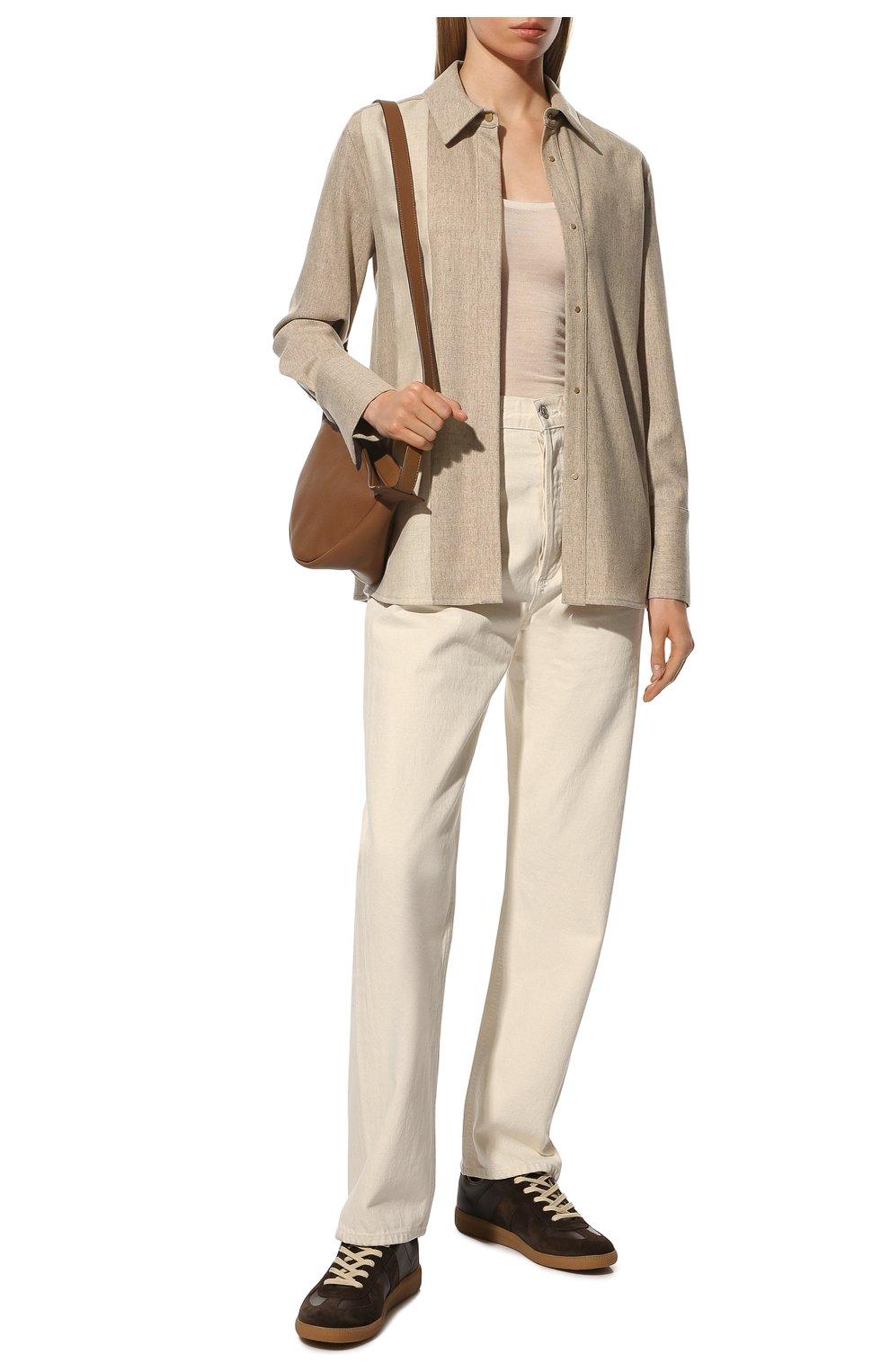 Женские джинсы AGOLDE белого цвета, арт. A069B-1183 | Фото 2