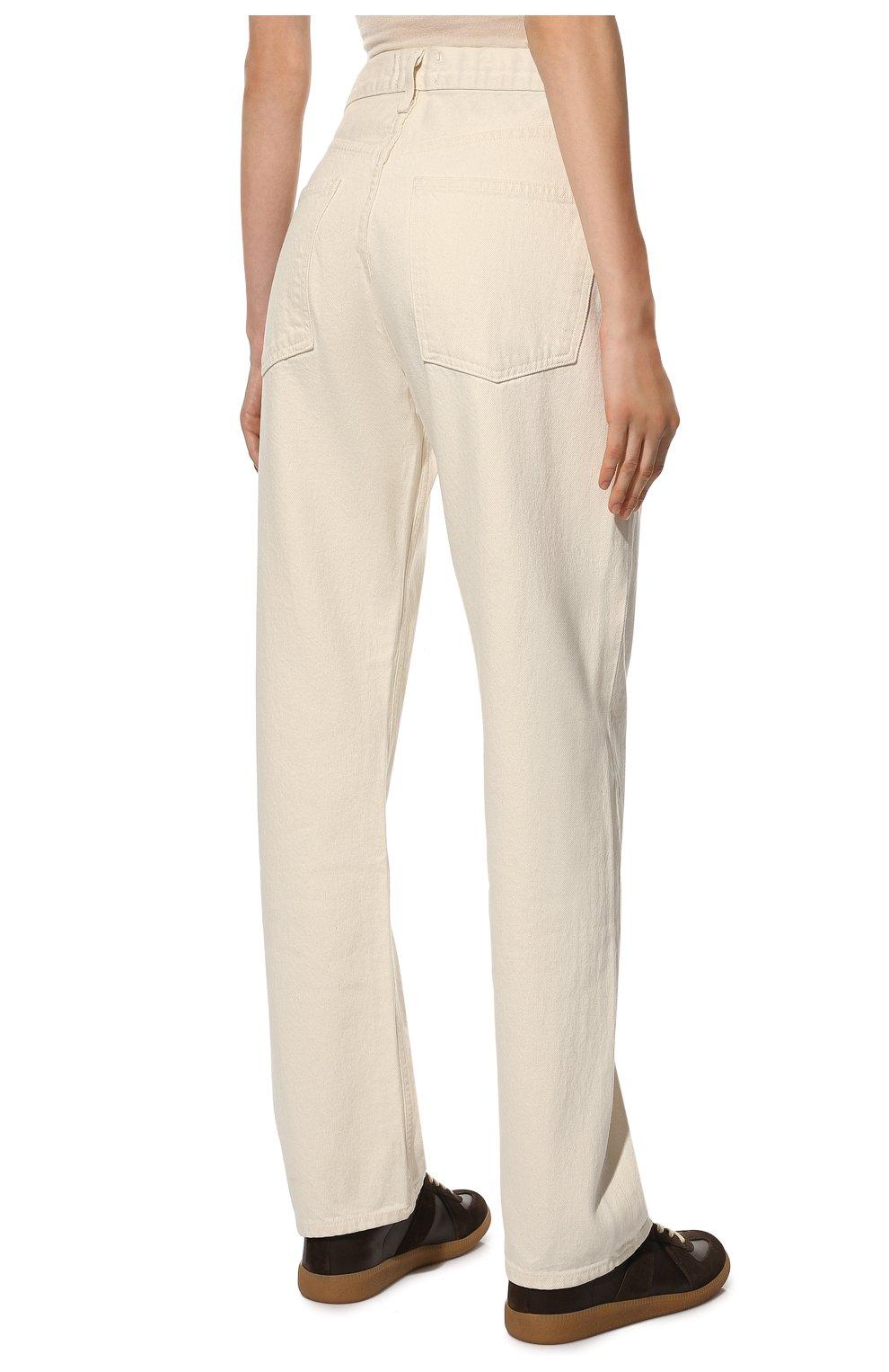 Женские джинсы AGOLDE белого цвета, арт. A069B-1183 | Фото 4