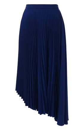 Женская плиссированная юбка MARKUS LUPFER синего цвета, арт. SK447 | Фото 1