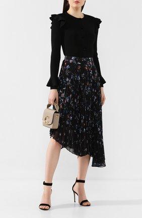 Женская плиссированная юбка MARKUS LUPFER черного цвета, арт. SK443 | Фото 2