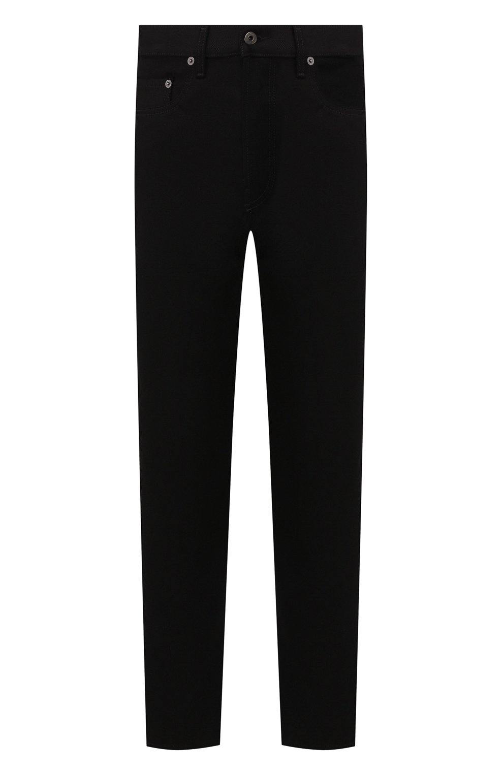 Мужские джинсы VALENTINO черного цвета, арт. SV0DE00H5T9   Фото 1