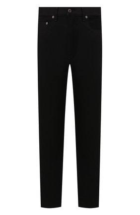 Мужские джинсы VALENTINO черного цвета, арт. SV0DE00H5T9 | Фото 1