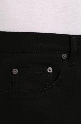 Мужские джинсы VALENTINO черного цвета, арт. SV0DE00H5T9   Фото 5