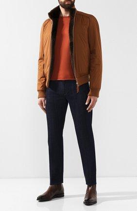 Мужские джинсы GIORGIO ARMANI синего цвета, арт. 6GSJ67/SDP5Z | Фото 2