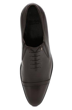 Мужские кожаные лоферы ALDO BRUE темно-коричневого цвета, арт. AB604FPH-NL | Фото 5