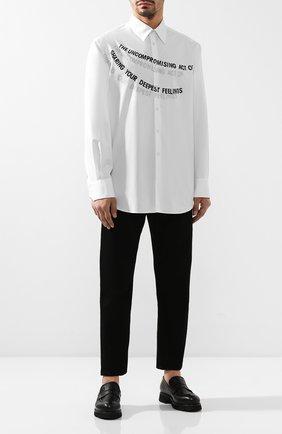 Мужские кожаные пенни-лоферы ROCCO P. черного цвета, арт. 9010/R0CK DEER | Фото 2