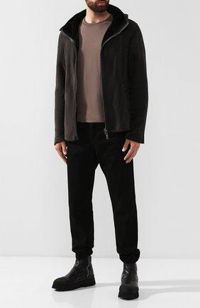 Мужские кожаные сапоги ROCCO P. черного цвета, арт. 9303/BISH0ND0 | Фото 2
