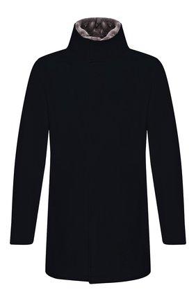 Мужской шерстяное пальто HERNO темно-синего цвета, арт. CA0071U/39601 | Фото 1