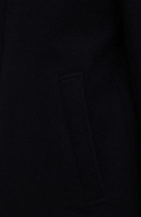 Мужской шерстяное пальто HERNO темно-синего цвета, арт. CA0071U/39601   Фото 5