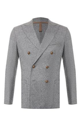 Мужской шерстяной пиджак ELEVENTY UOMO серого цвета, арт. 979JA0002 JAC24018 | Фото 1