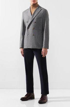 Мужской шерстяной пиджак ELEVENTY UOMO серого цвета, арт. 979JA0002 JAC24018 | Фото 2