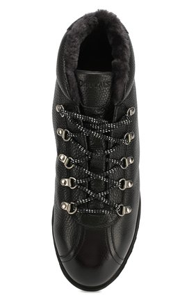 Мужские кожаные ботинки DOUCAL'S черного цвета, арт. DU1793WINNUM0192N00 | Фото 5