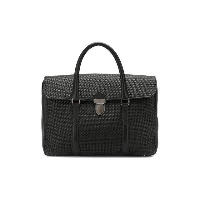 Кожаный портфель Pelletessuta Ermenegildo Zegna