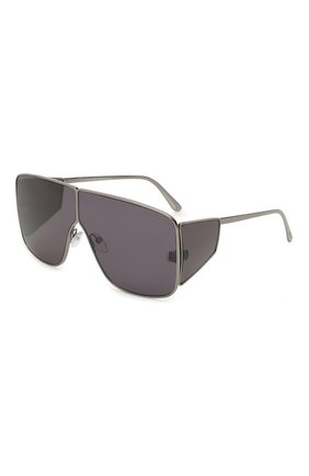 Женские солнцезащитные очки TOM FORD темно-серого цвета, арт. TF708 08A | Фото 1