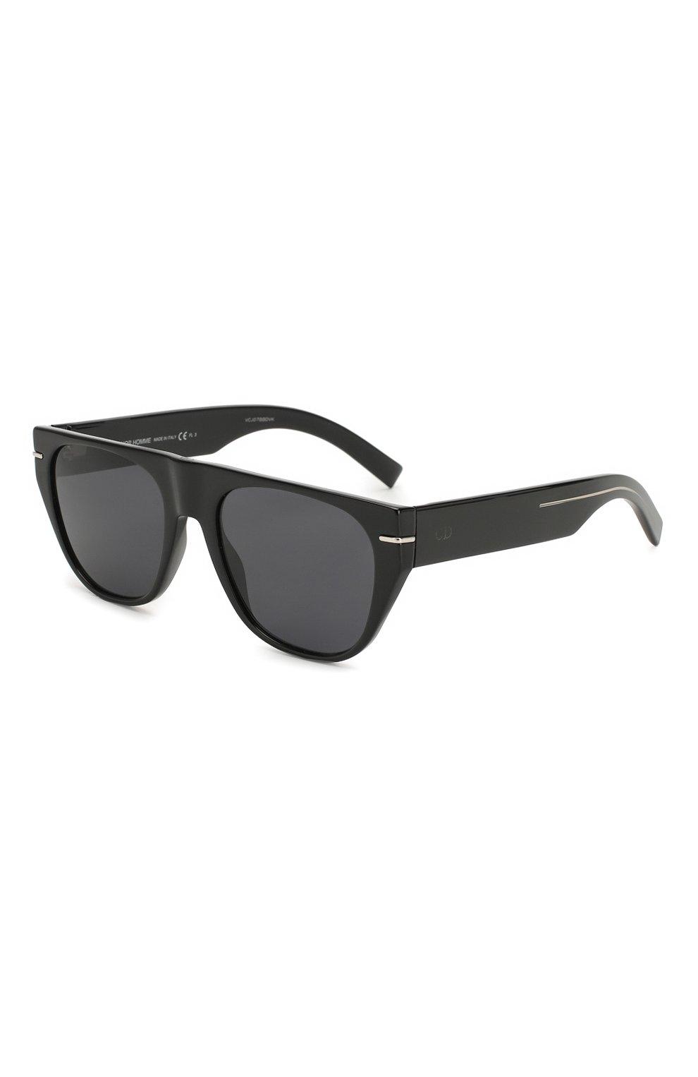 Мужские солнцезащитные очки DIOR черного цвета, арт. BLACKTIE257S 807 | Фото 1