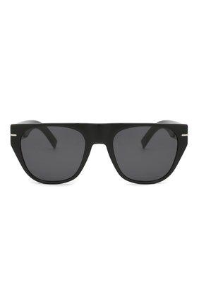 Мужские солнцезащитные очки DIOR черного цвета, арт. BLACKTIE257S 807 | Фото 2