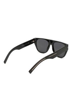 Мужские солнцезащитные очки DIOR черного цвета, арт. BLACKTIE257S 807 | Фото 3