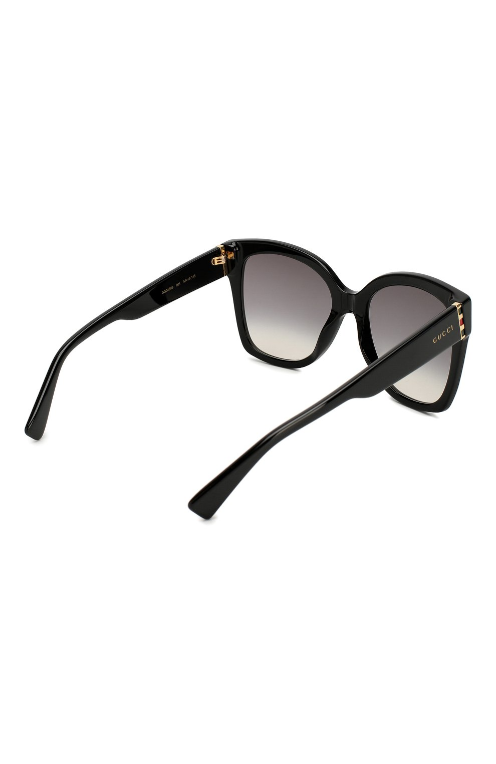 Женские солнцезащитные очки GUCCI черного цвета, арт. GG0459 001 | Фото 4