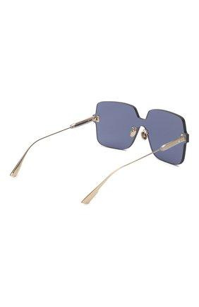 Женские солнцезащитные очки DIOR темно-синего цвета, арт. DI0RC0L0RQUAKE1 PJP | Фото 4