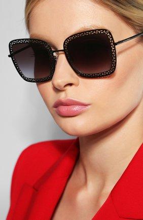 Мужские солнцезащитные очки DOLCE & GABBANA черного цвета, арт. 2225-01/8G | Фото 2