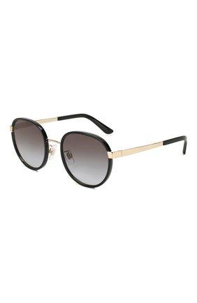 Мужские солнцезащитные очки DOLCE & GABBANA черного цвета, арт. 2227J-02/8G | Фото 1