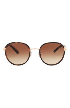 Женские солнцезащитные очки DOLCE & GABBANA коричневого цвета, арт. 2227J-129813   Фото 3