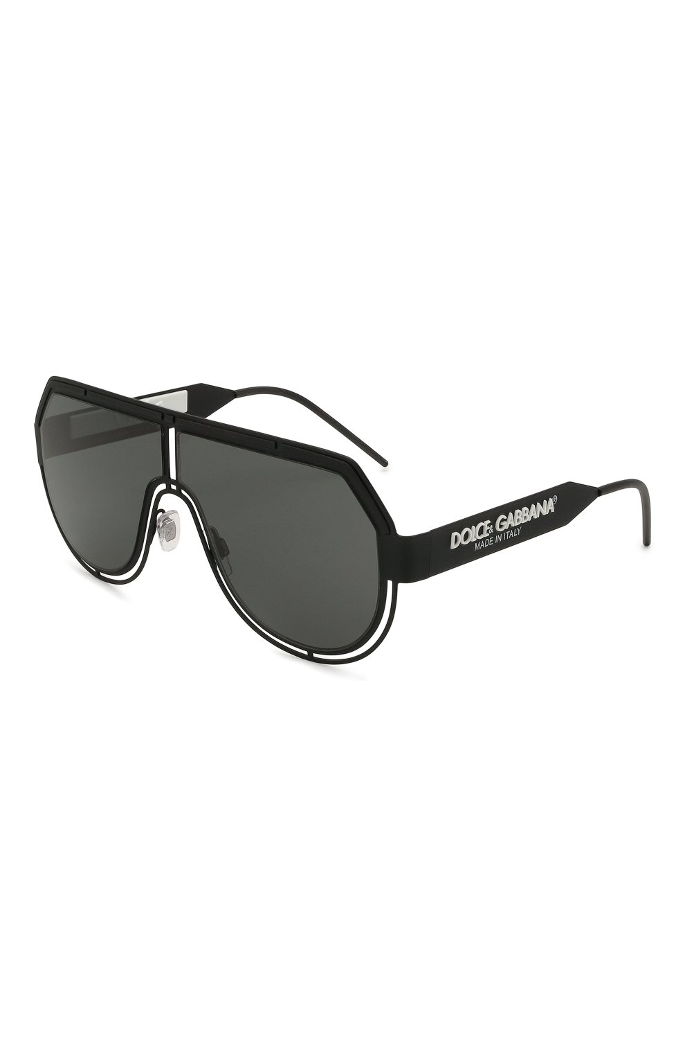 Мужские солнцезащитные очки DOLCE & GABBANA черного цвета, арт. 2231-327687   Фото 1