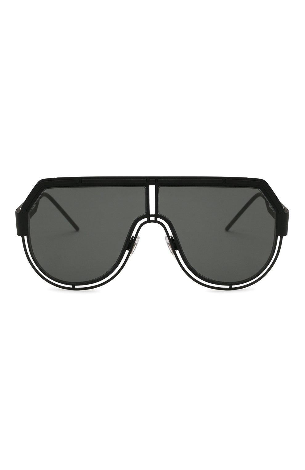 Мужские солнцезащитные очки DOLCE & GABBANA черного цвета, арт. 2231-327687   Фото 3