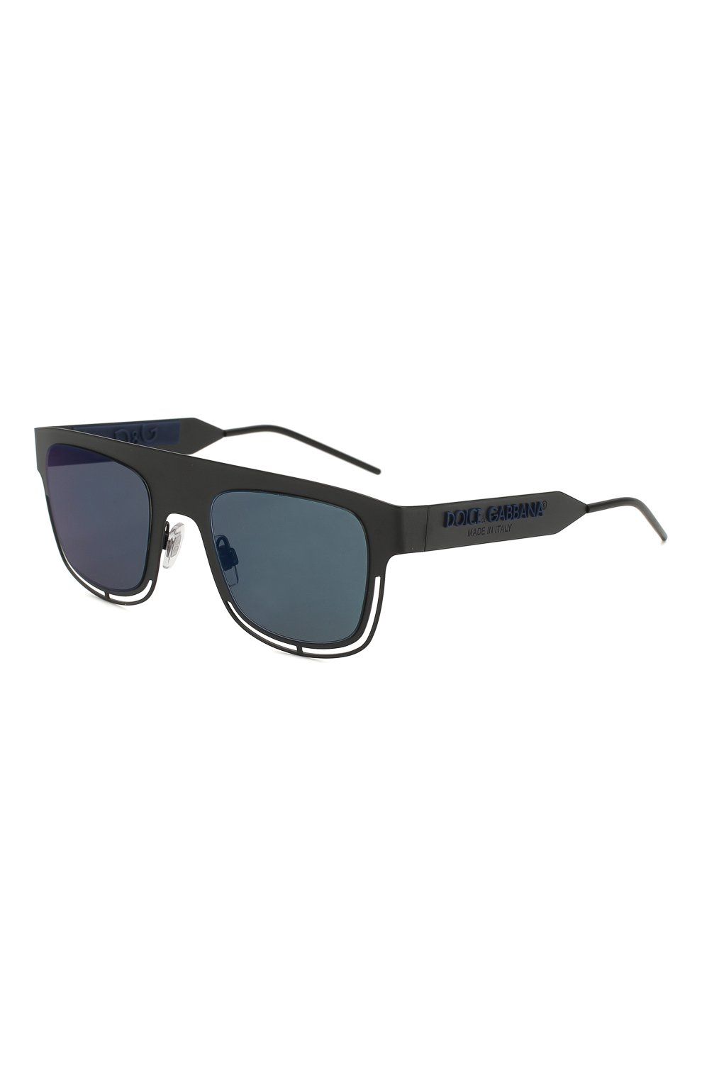 Мужские солнцезащитные очки DOLCE & GABBANA черного цвета, арт. 2232-110696 | Фото 1